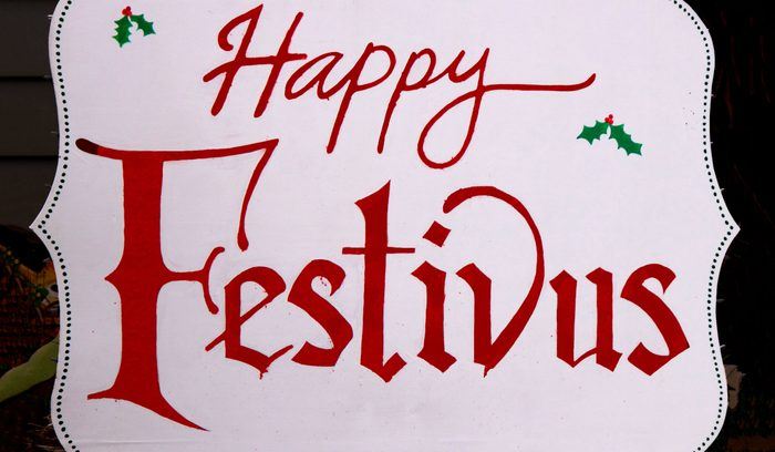 happy festivus sign