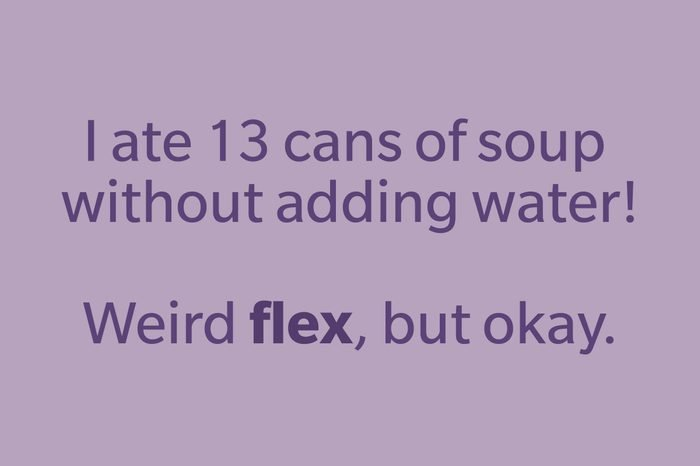 slang words flex