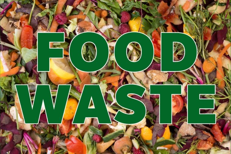 recyclable materials food waste