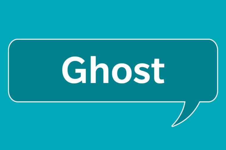slang words ghost