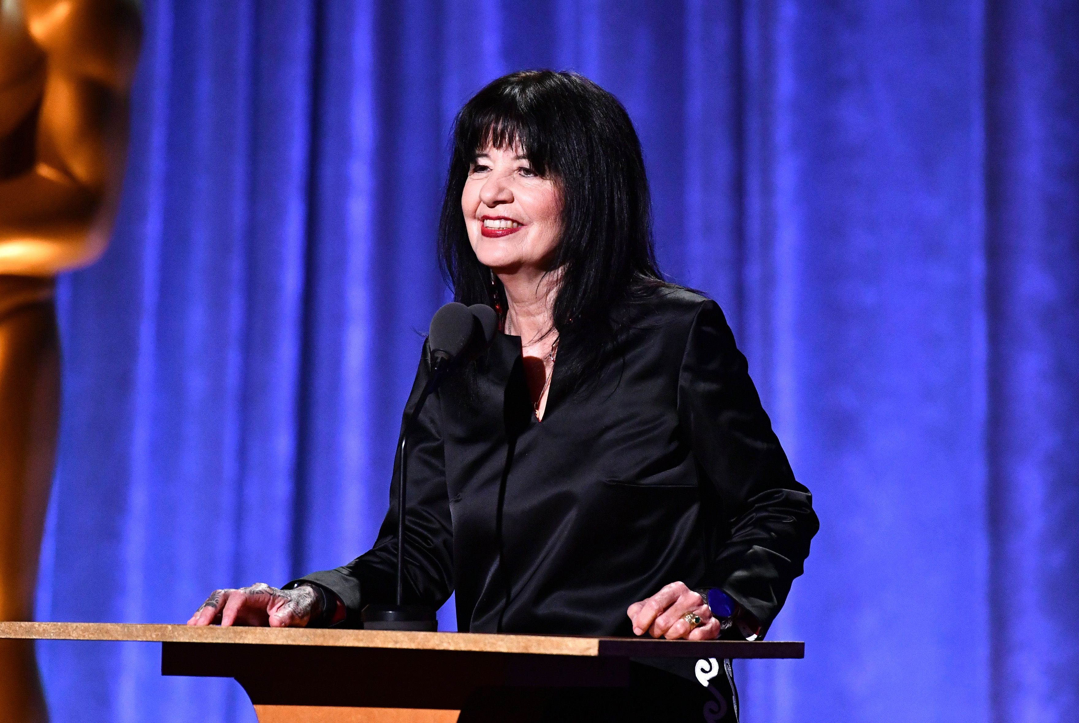 Mandatory Credit: Photo by Michael Buckner/Variety/Shutterstock (10456677ay) Joy Harjo Governors Awards, Inside, Dolby Theatre, Los Angeles, USA - 27 Oct 2019