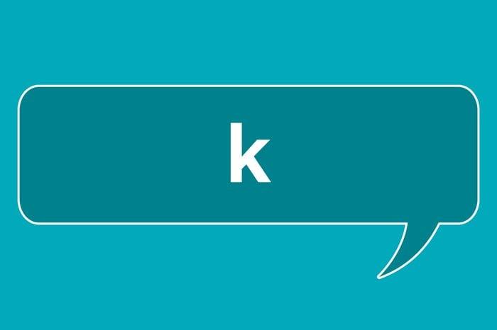 slang words k