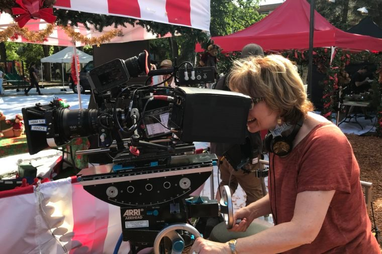 Barbara Hinske filming hallmark movie