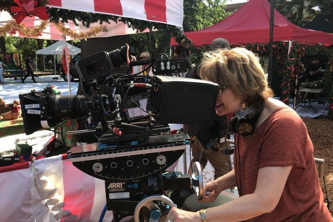 Barbara Hinske filming hallmark movie