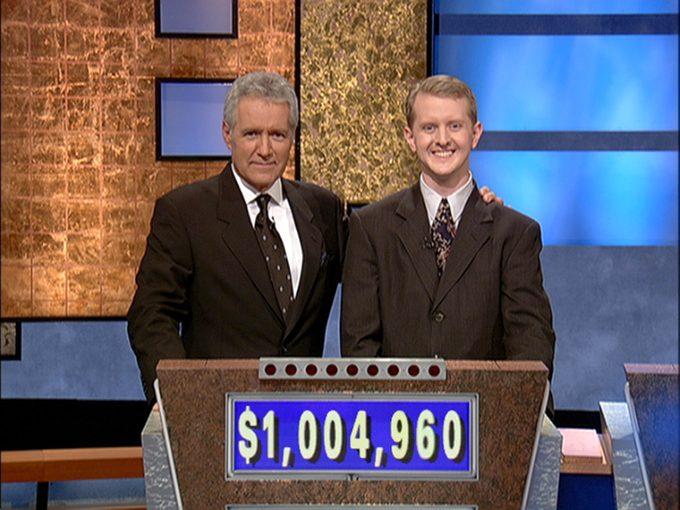 KEN JENNINGS Alex trebek jeopardy 1 million