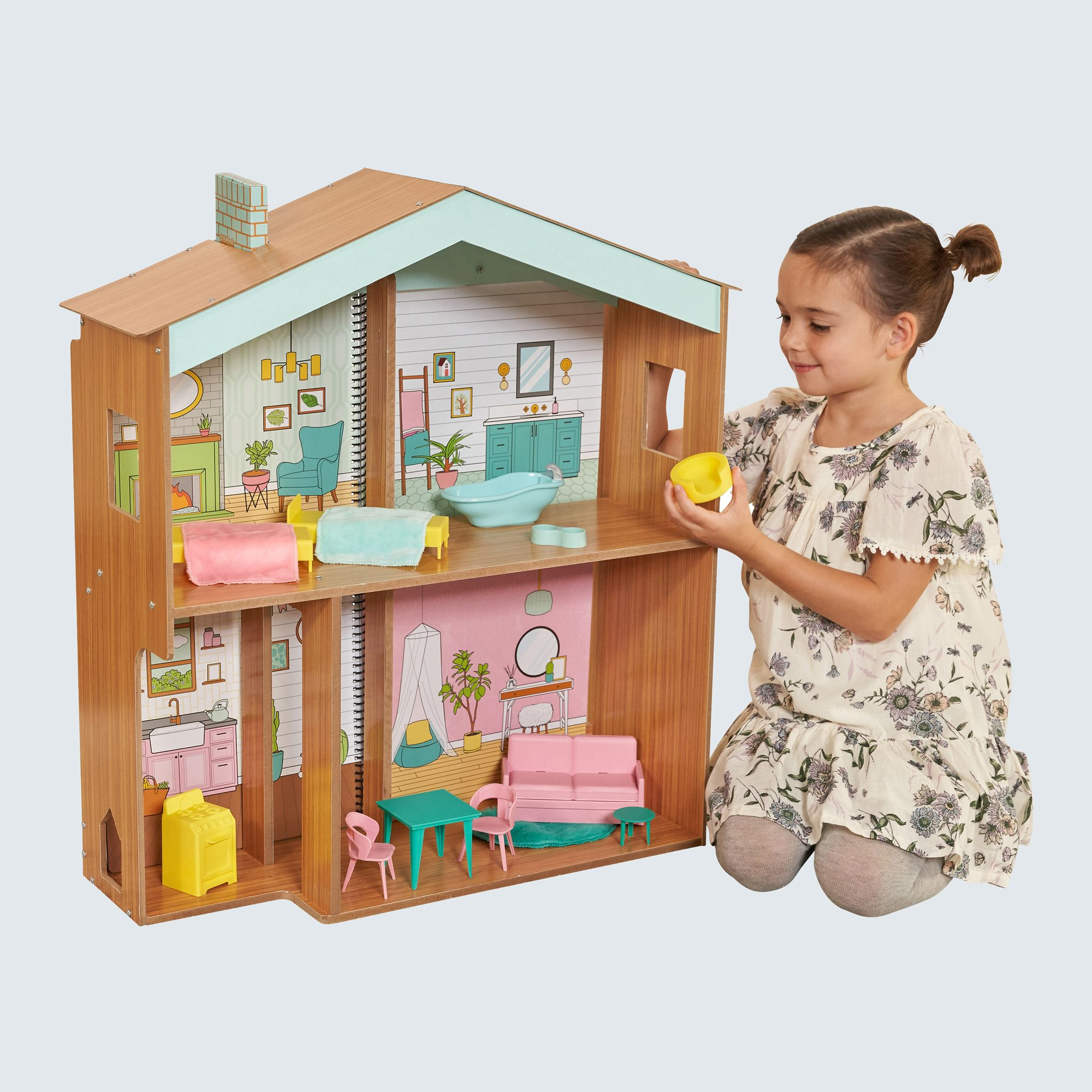 KidKraft Designed by Me: Color Decor Dollhouse