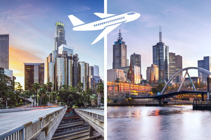 los angeles to melbourne most expensive flights