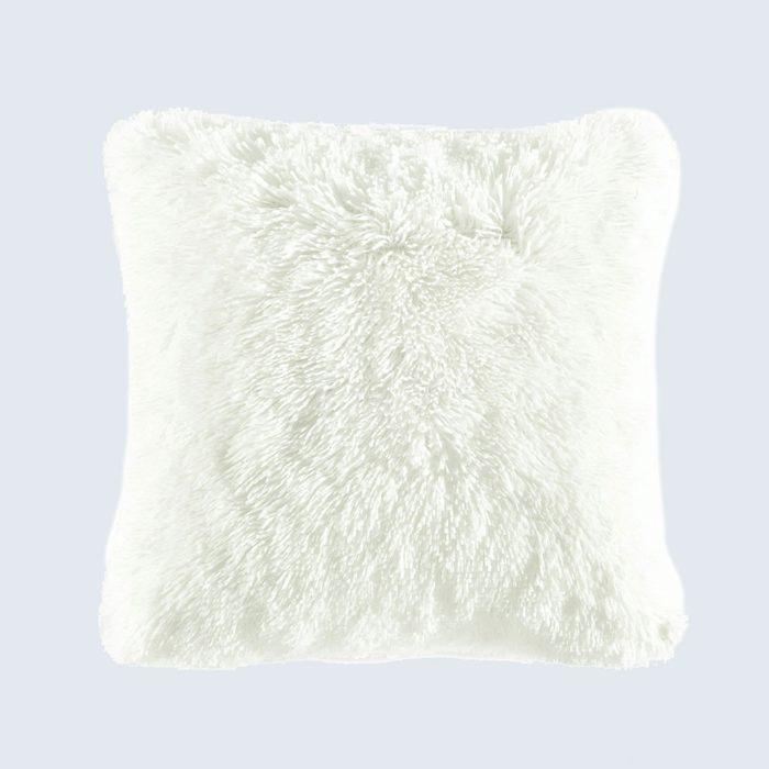 Lush Décor Emma Faux Fur Decorative Pillow Cover