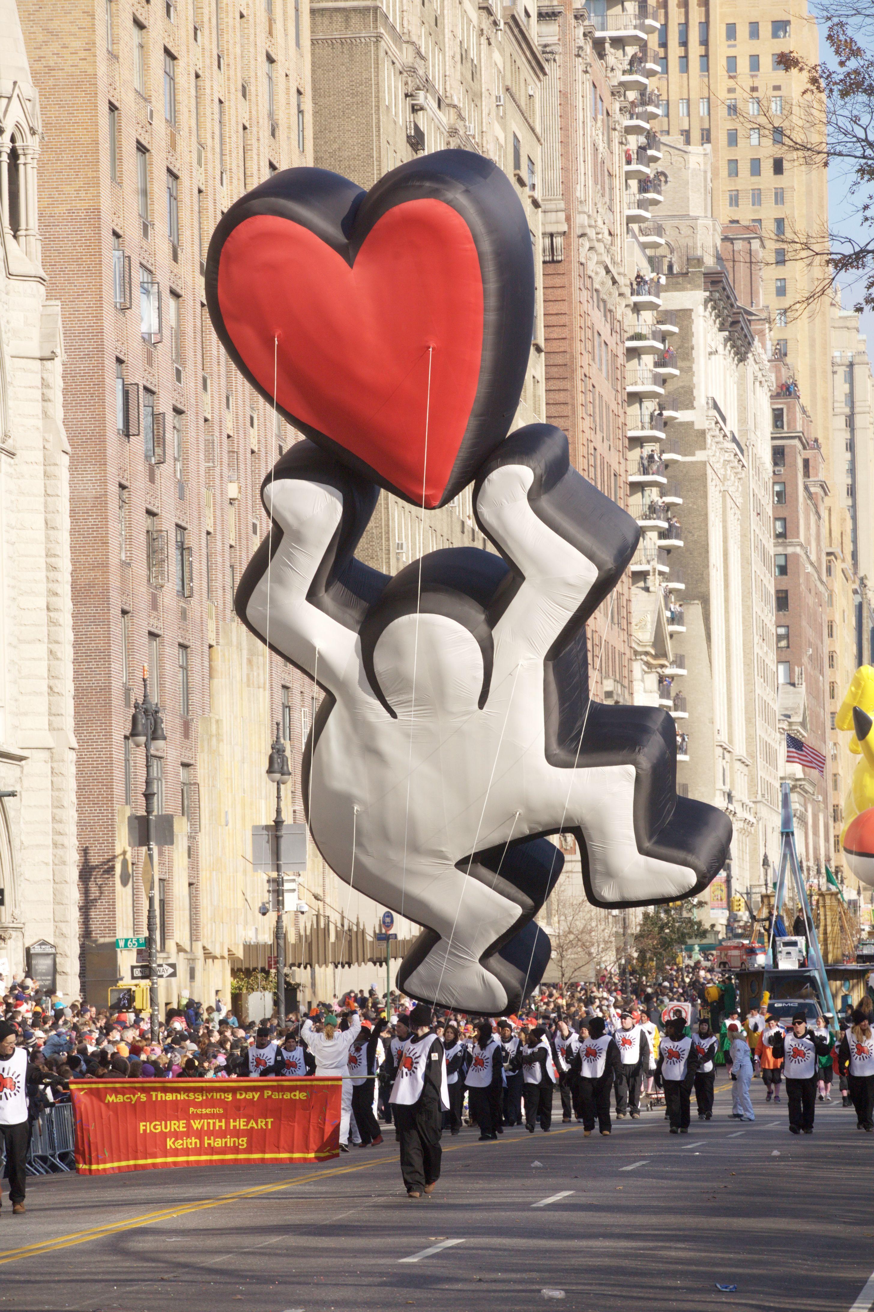 Keith Haring Balloon Macy's Thanksgiving Day Parade
