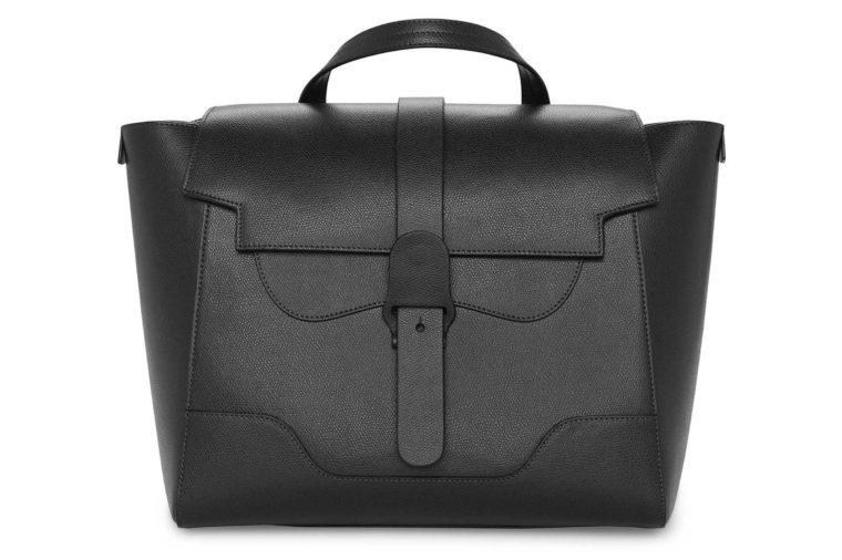 senreve maestra leather handbag