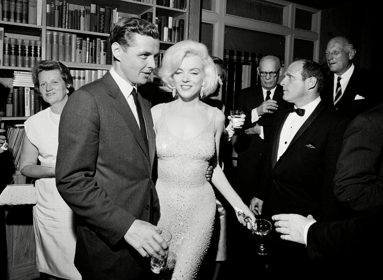 Marilyn Monroe Happy Birthday JFK Dress