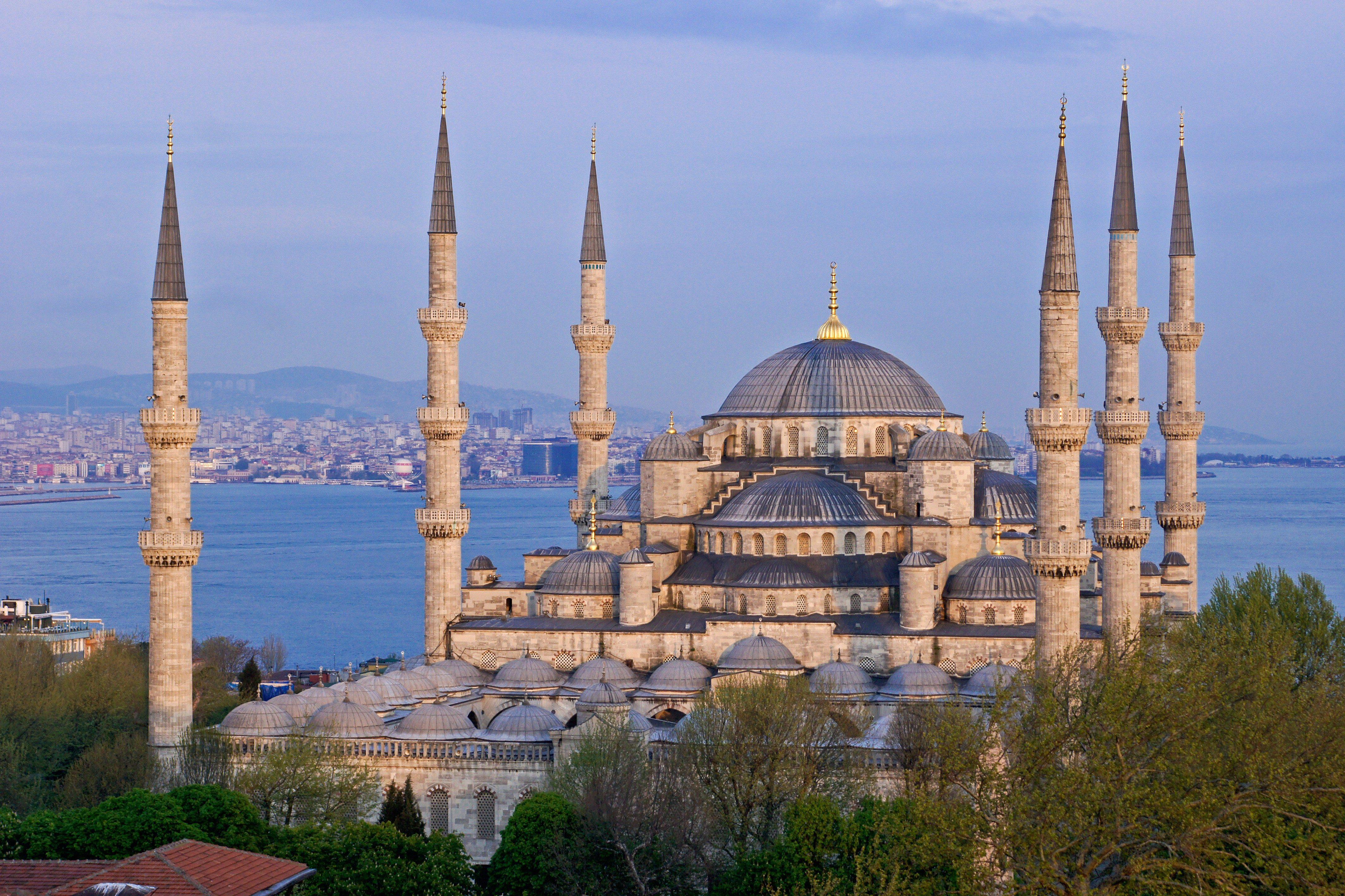 Sultanahmet Camii (Blue Mosque), Istanbul, Turkey