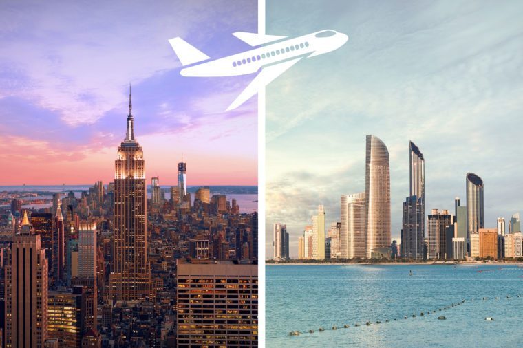 most expensive flights new york to abu dhabi