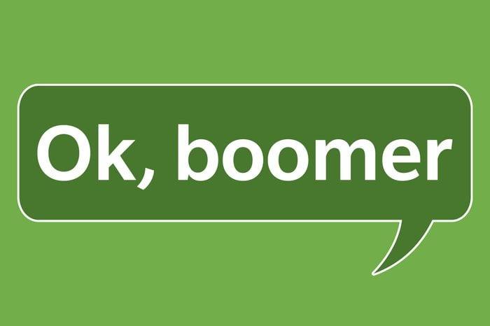 slang words ok boomer