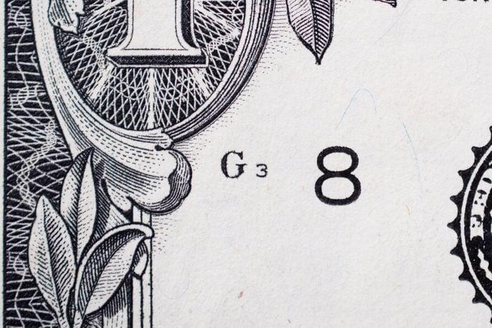 Plate Position Dollar Bill