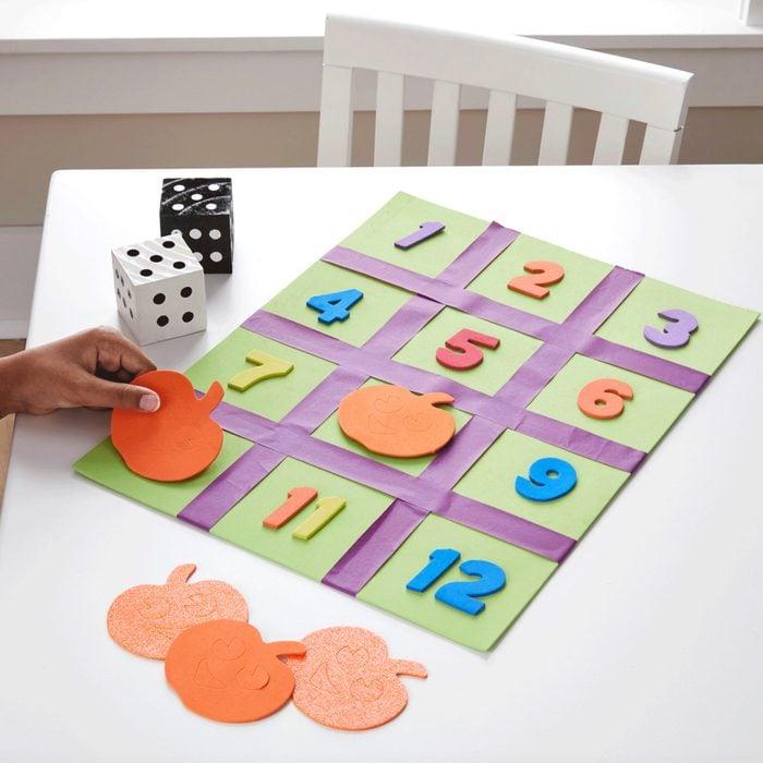 Pumpkin Counting Craft