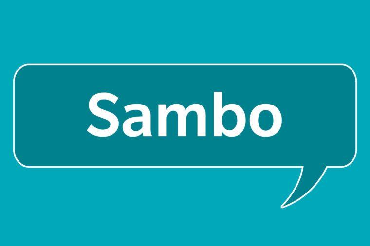 slang words sambo