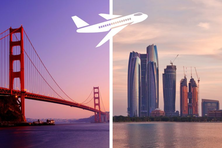 san francisco to abu dhabi most expensive flights