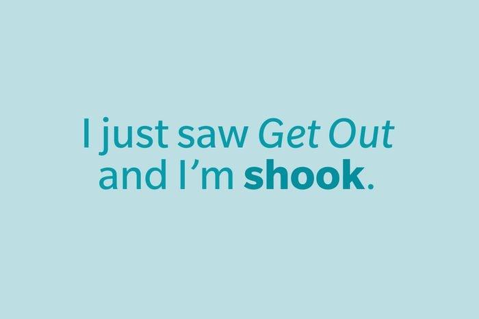 slang words shook