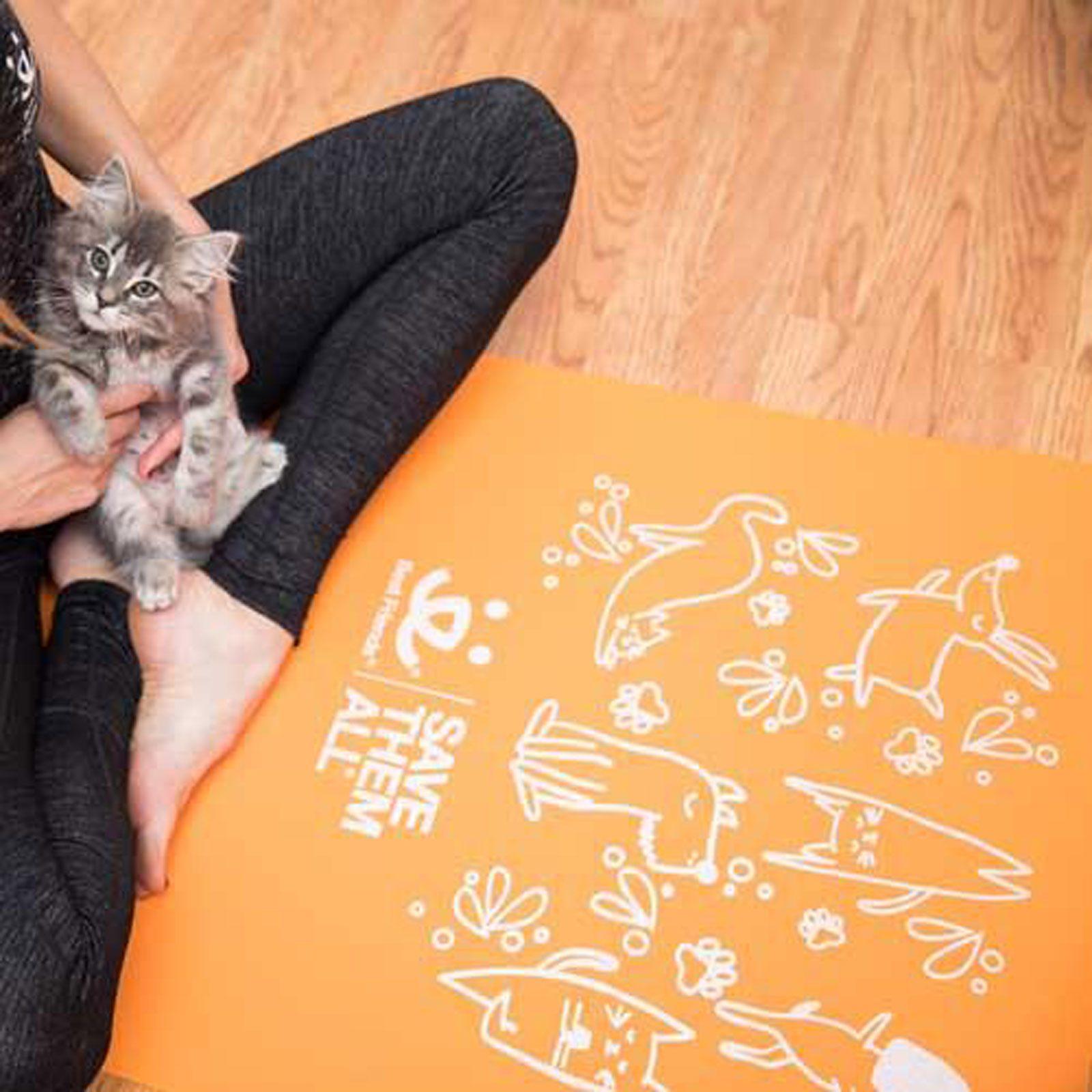 Best Friends Animal Society Yoga Mat
