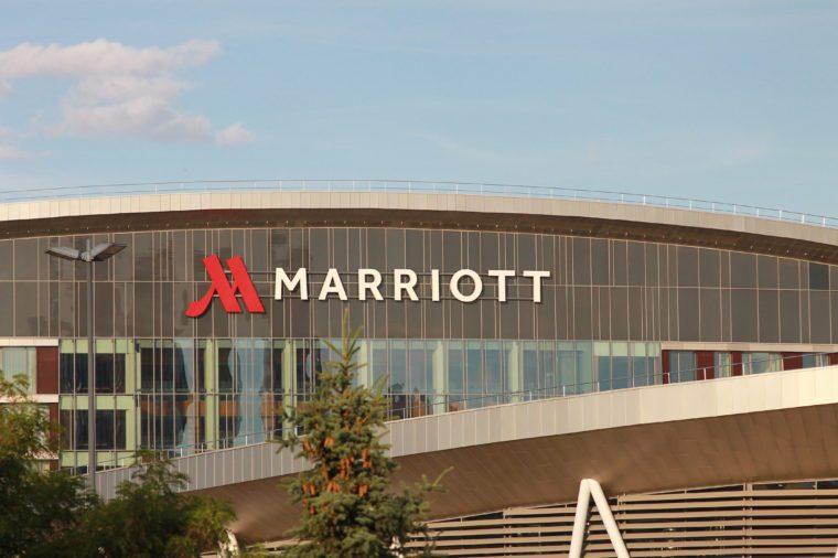 marriott hotel smart technology