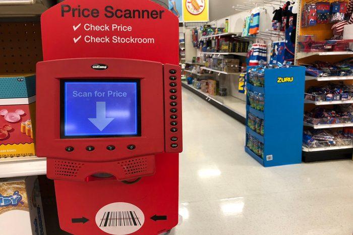 target price scanner