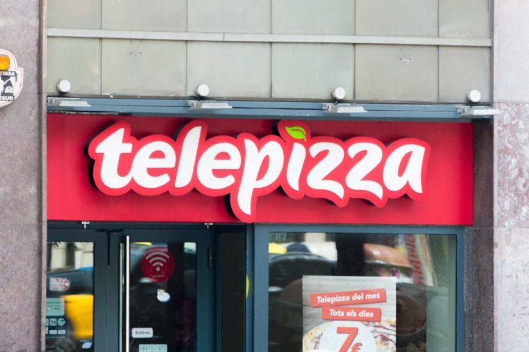 telepizza spain fast food