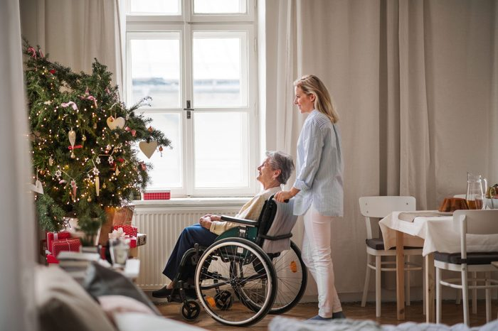 nursing home during christmas