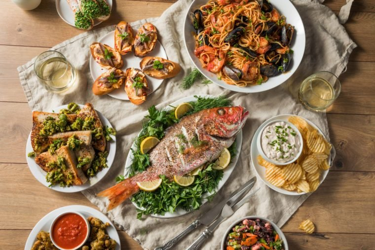 7 fish italian christmas dinner