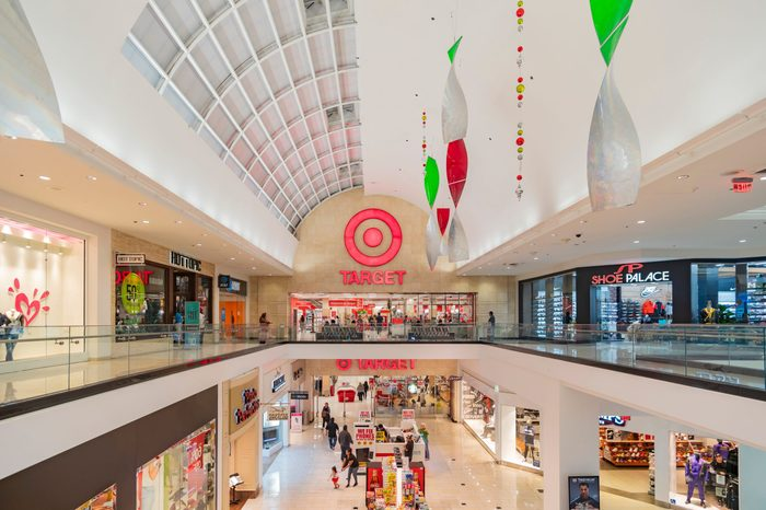 target in mall
