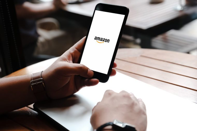 amazon app on phone black friday