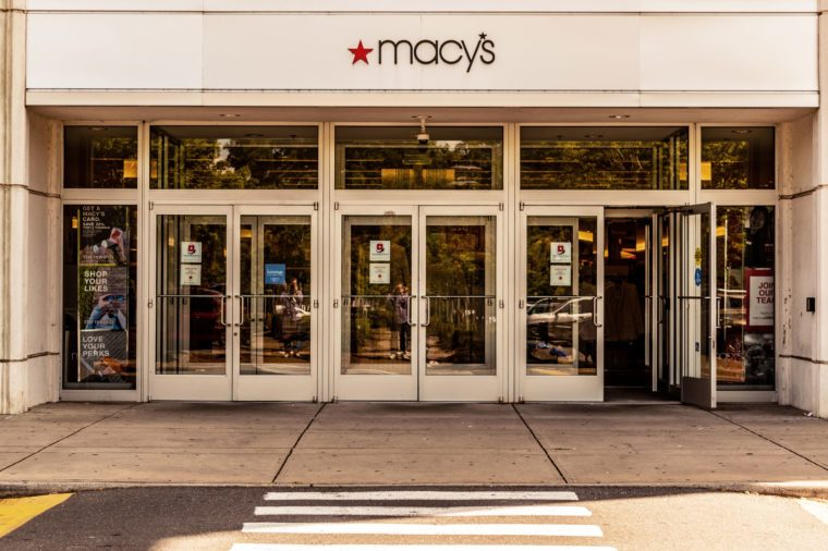macy's store front how to save while holiday shopping