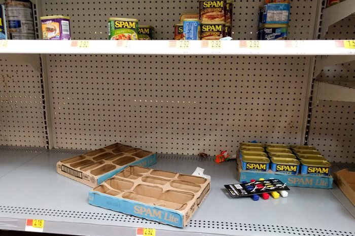 walmart shelves
