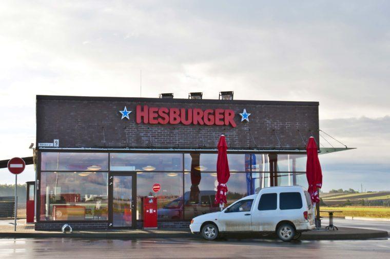 hesburger fast food