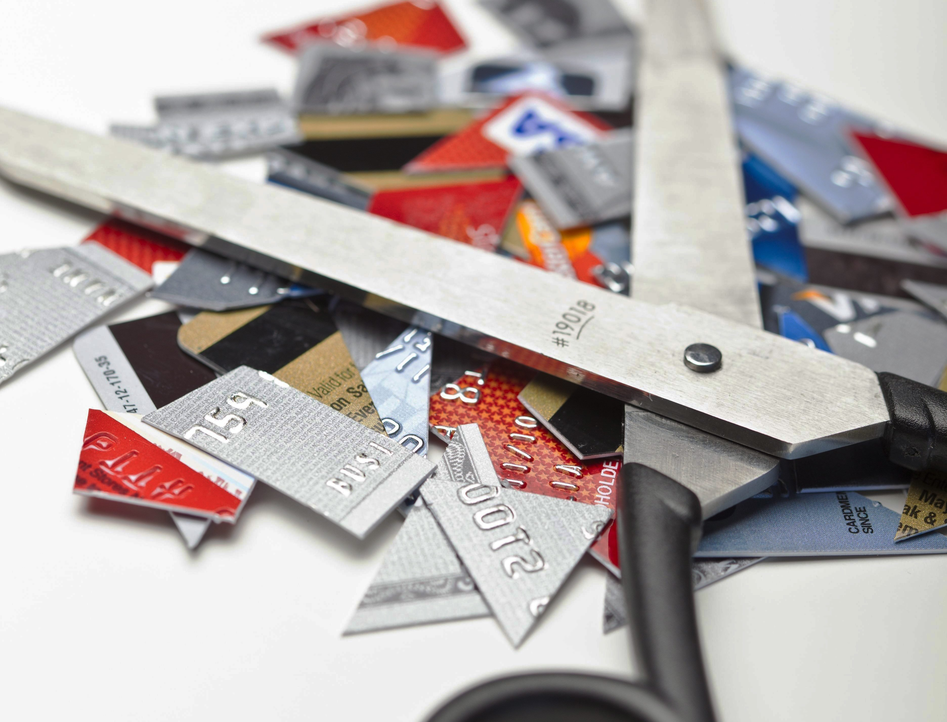 Credit Card Pieces; Shutterstock ID 177473297; Job (TFH, TOH, RD, BNB, CWM, CM): -