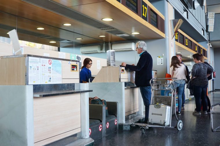 airport check in travel hacks