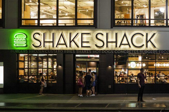 shake shack liberty shell