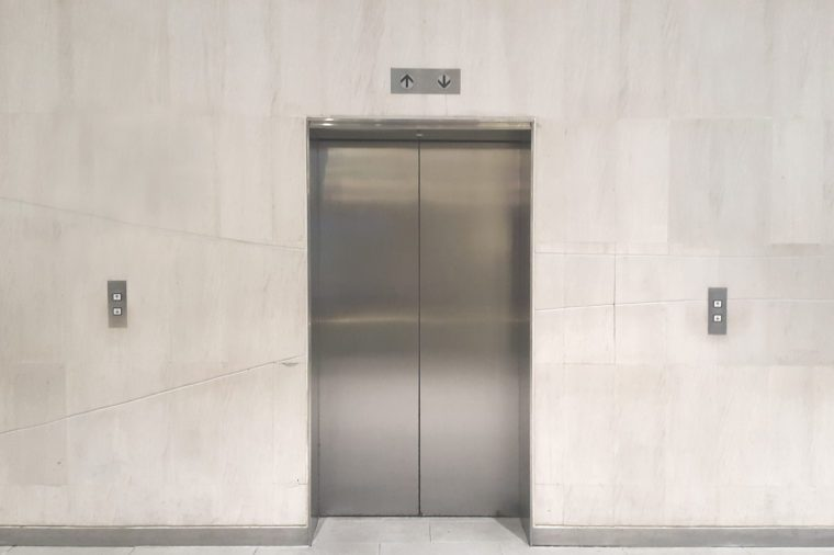 elevator in office