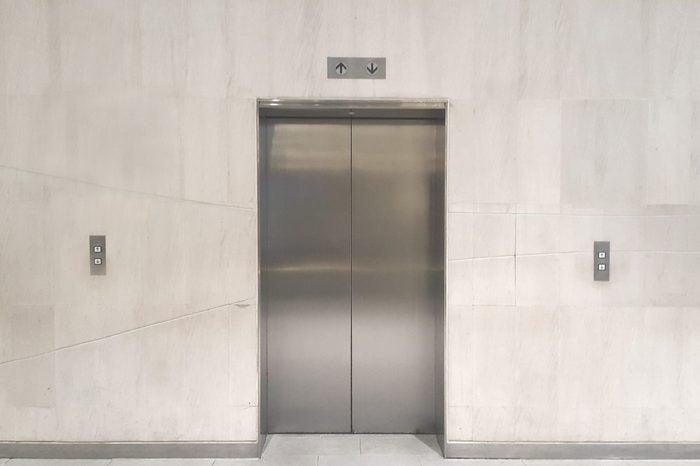 elevator in office