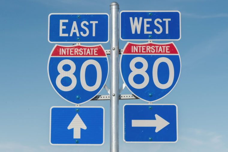 interstate 80 signs