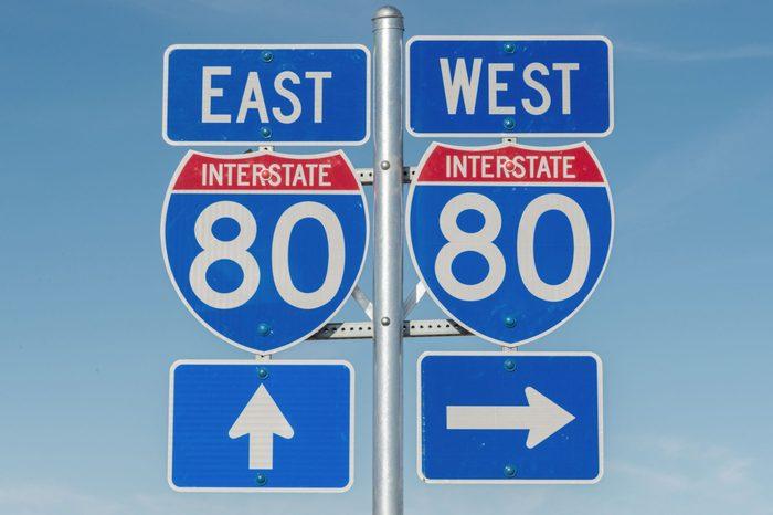interstate 80 signs
