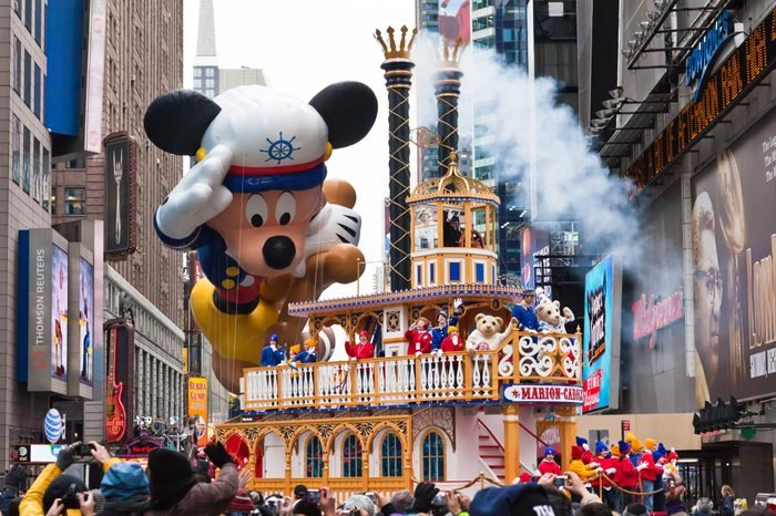 mickey mouse sailor river boat thanksgiving parade float macy's
