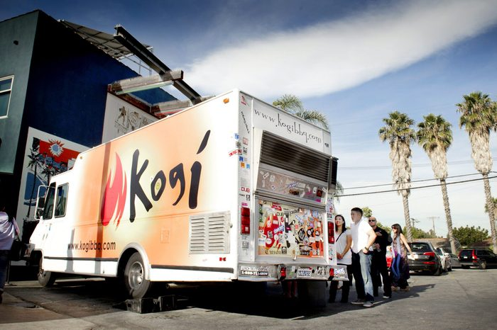 kogi bbq food truck california