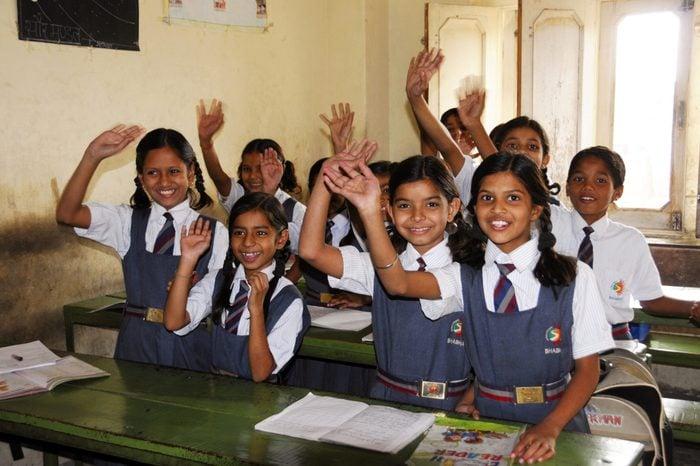 India school classroom