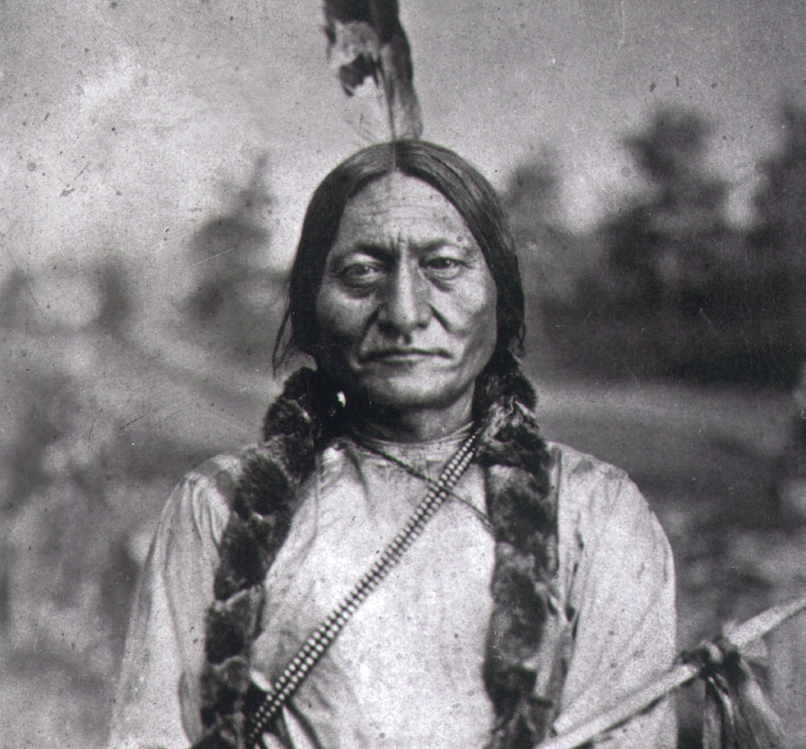 Mandatory Credit: Photo by Bill Manns/Shutterstock (7647211ng) SITTING BULL or Tatanka Iyotake, 1831-90, Teton Sioux Indian Chief, Hunkpapa Division, principal chief of Sioux Nation, USA, from 1867, took part in the battle against Custer and the 7th Cavalry at Little Big Horn, Montana, June 1876 Art