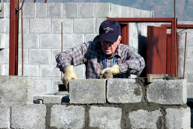 president jimmy carter habitat for humanity build