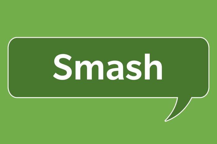 slang words smash