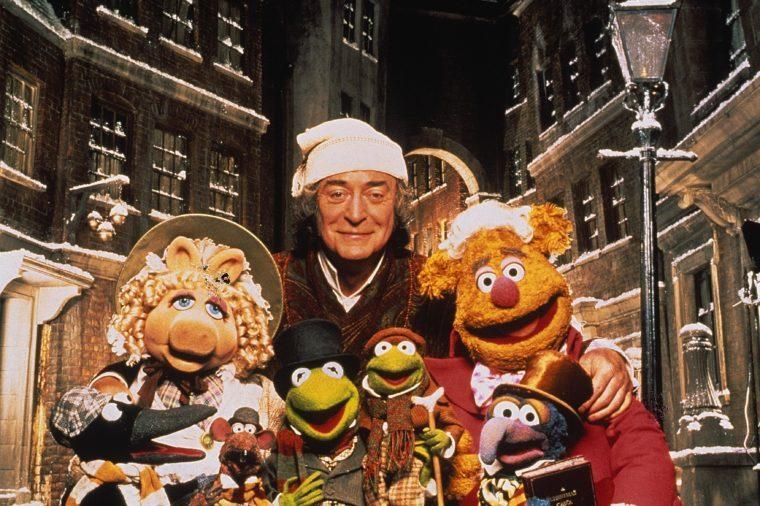 michael cane the muppet christmas carol