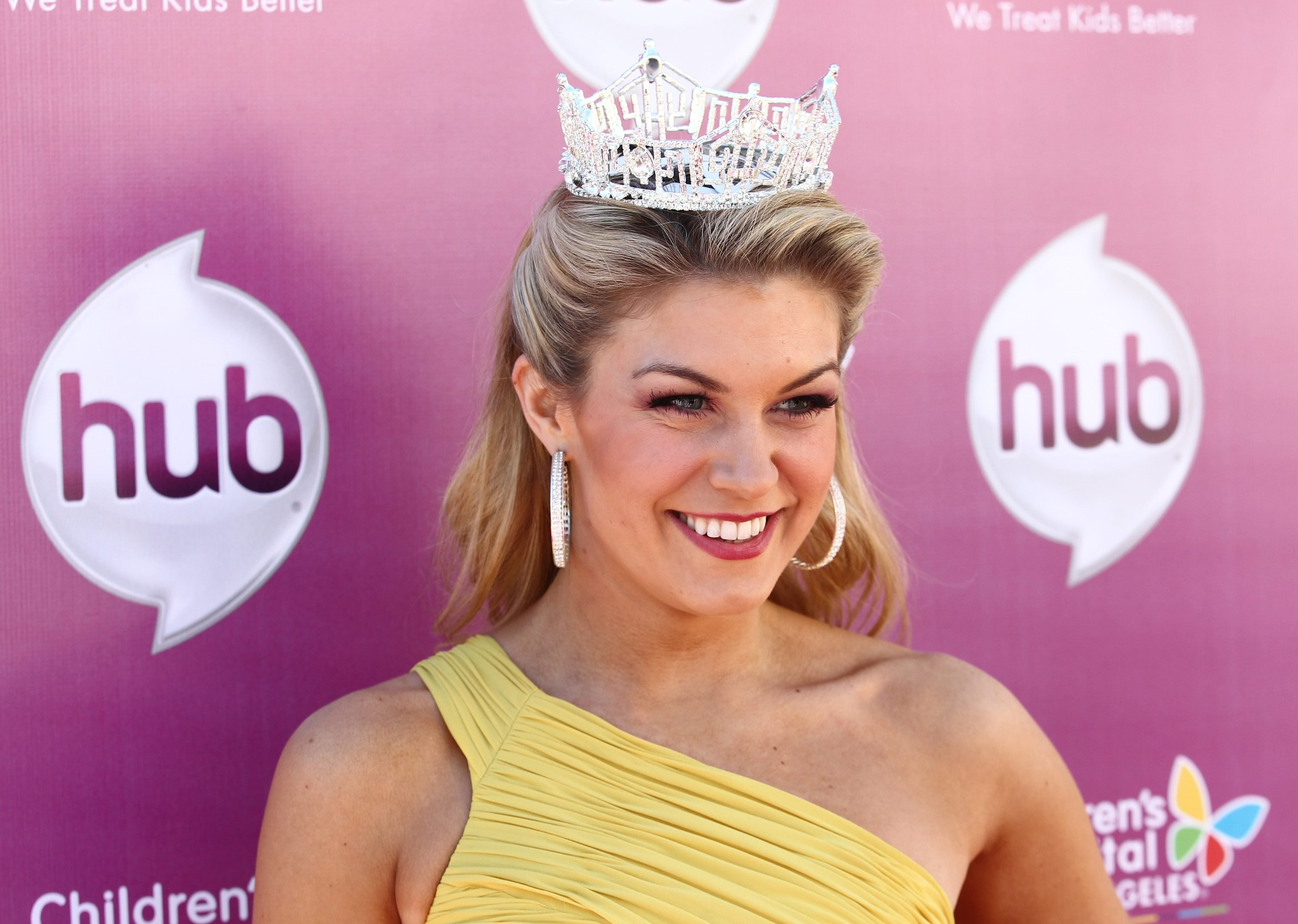 "Mandatory Credit: Photo by Matt Sayles/Invision/AP/Shutterstock (9197652ag) Miss America 2013 Mallory Hagan attends the The Hub TV Network's ""My Little Pony Friendship is Magic"" Coronation Concert at the Brentwood Theatre, in Los Angeles in support of Children's Hospital LA The My Little Pony Coronation Concert, Los Angeles, USA - 9 Feb 2013"