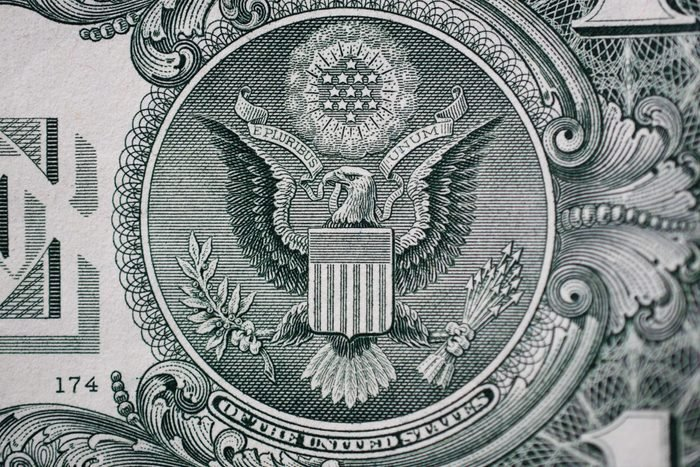 The Number 13 On Dollar Bill
